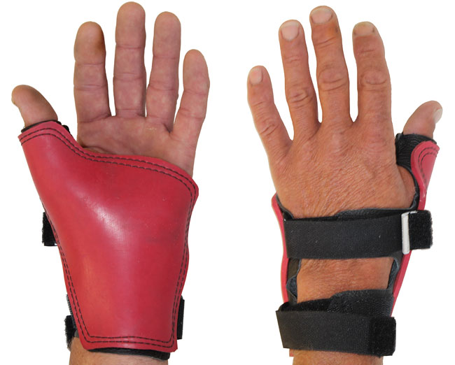 Palm Gloves - Double Strap