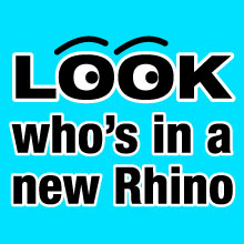 Look whos in a new Rhino