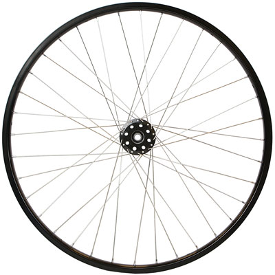 Standard Alloy Cross Spoked Wheel