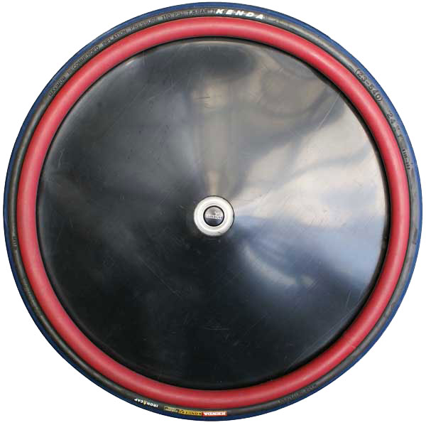 Black Dish Spoke Guard (Sports)